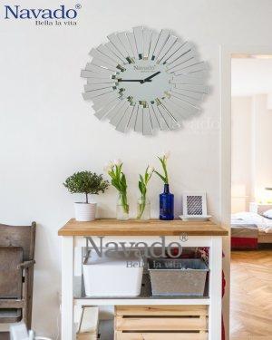 ART DECOR CLOCK MIRROR FOR HOUSE