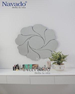 MIMOSA ART FLOWER MAKEUP MIROR DESIGN