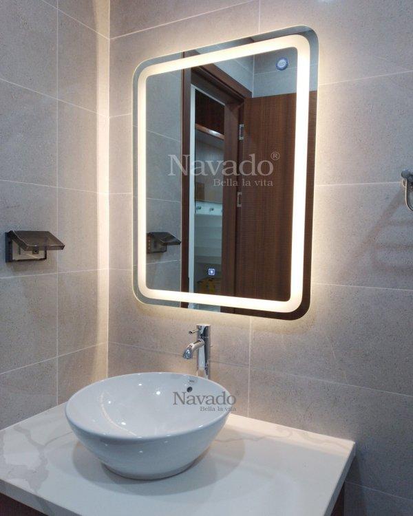 MODERN LED BATHROOM MIRROR WALL DECOR