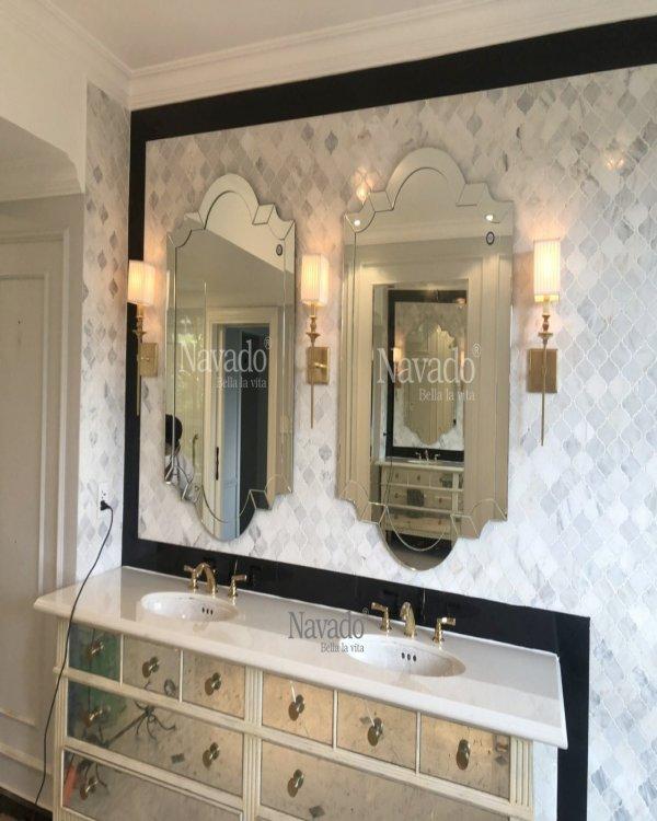 MODERN ART MIRROR DESIGN KEVA FOR WALL BATHROOM