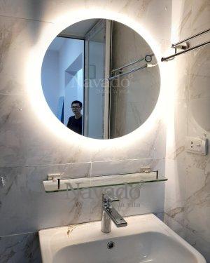 LED ROUND BATHROOM MIRROR DECORATE