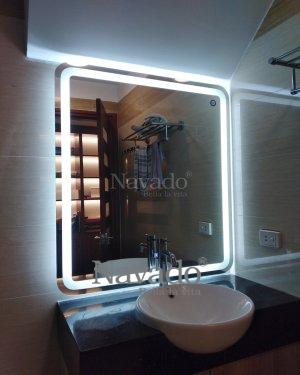 WALL DECOR MODERN LED BATHROOM MIRROR