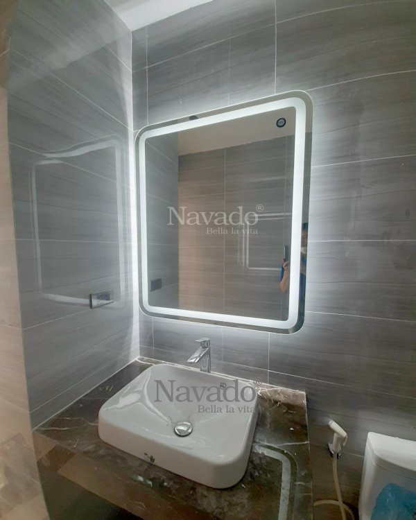 LED RECTANGLE BATHROOM MIRROR MODERN DESIGN