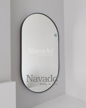 OVAL MAKEUP MIRROR WITH MODERN STYLE