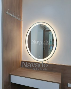 LED ELIP MAKEUP MIRROR WITH MODERN STYLE