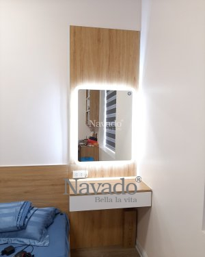 DECOR LED RECTANGLE BATHROOM MIRROR FOR BEDROOM