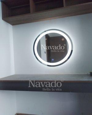 WALL MODERN LED MAKEUP MIRROR HANGING BEDROOM