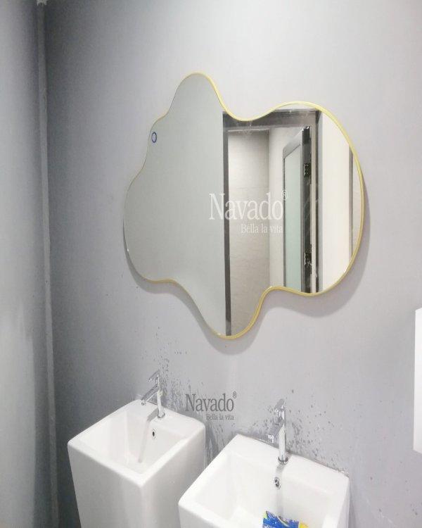 DECOR COULD ART BATHROOM MIRROR
