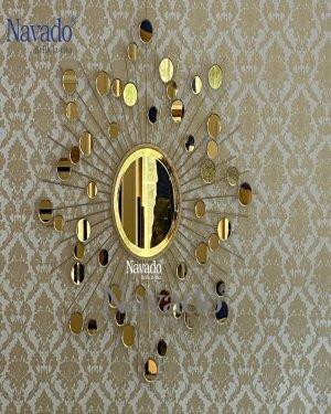 LUXURY GOLD HEBES MIRROR