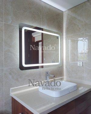 LED RECTANGLE BATHROOM MIRROR FOR HOUSE