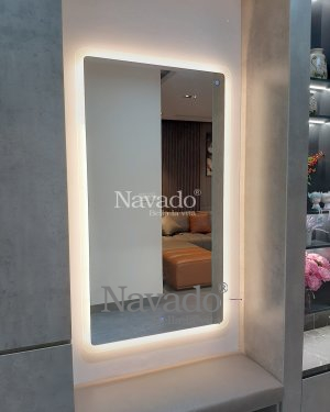 LED RECTANGLE MAKEUP MIRROR FOR GIRLS