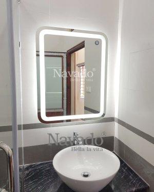 ART DECOR LED RECTANGLE BATHROOM MIRROR