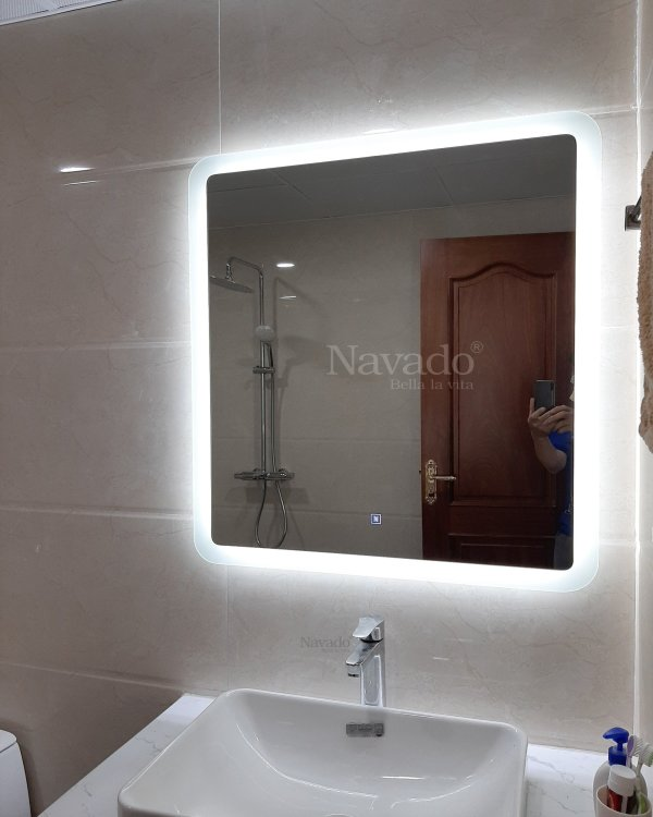 ART LED RECTANGLE MODERN STYLE BATHROOM MIRROR