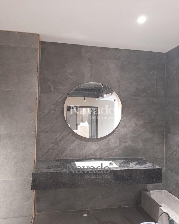 BASIC ROUND BATHROOM MIRROR STYLE