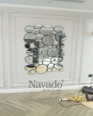 WALL ART DECOR LIVING ROOM MIRROR FOR HOUSE