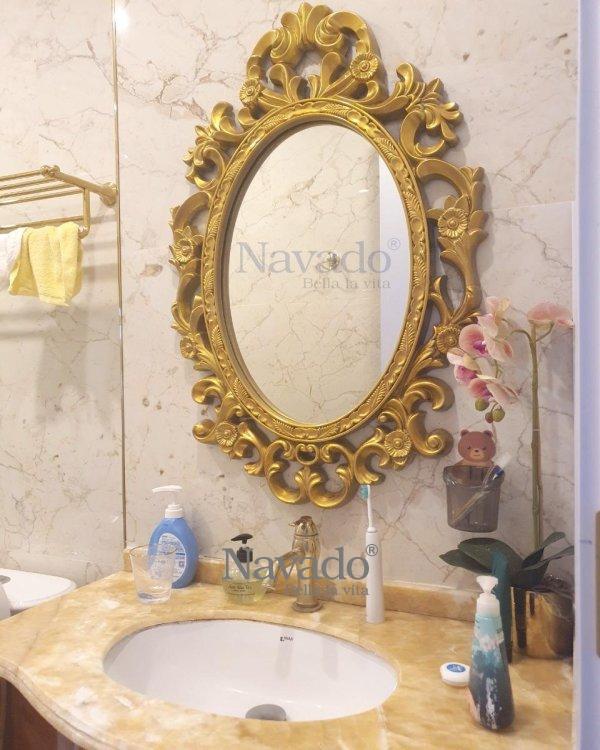ZUES ART CLASSIC BATHROOM MIROR WITH LUXURY STYLE