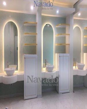 ART LED FULL BODY MIRROR WALL DECOR BATHROOM