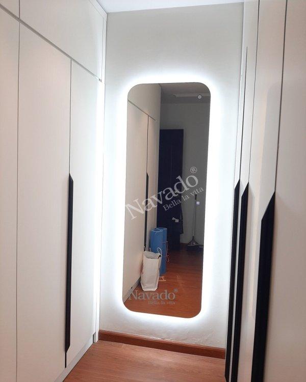 LED FULL BODY MIRROR DECOR LIVNG ROOM