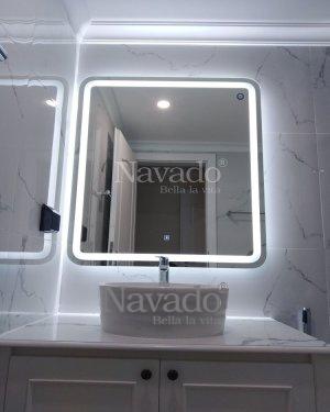 LED RECTANGLE BATHROOM MIRROR DECOR
