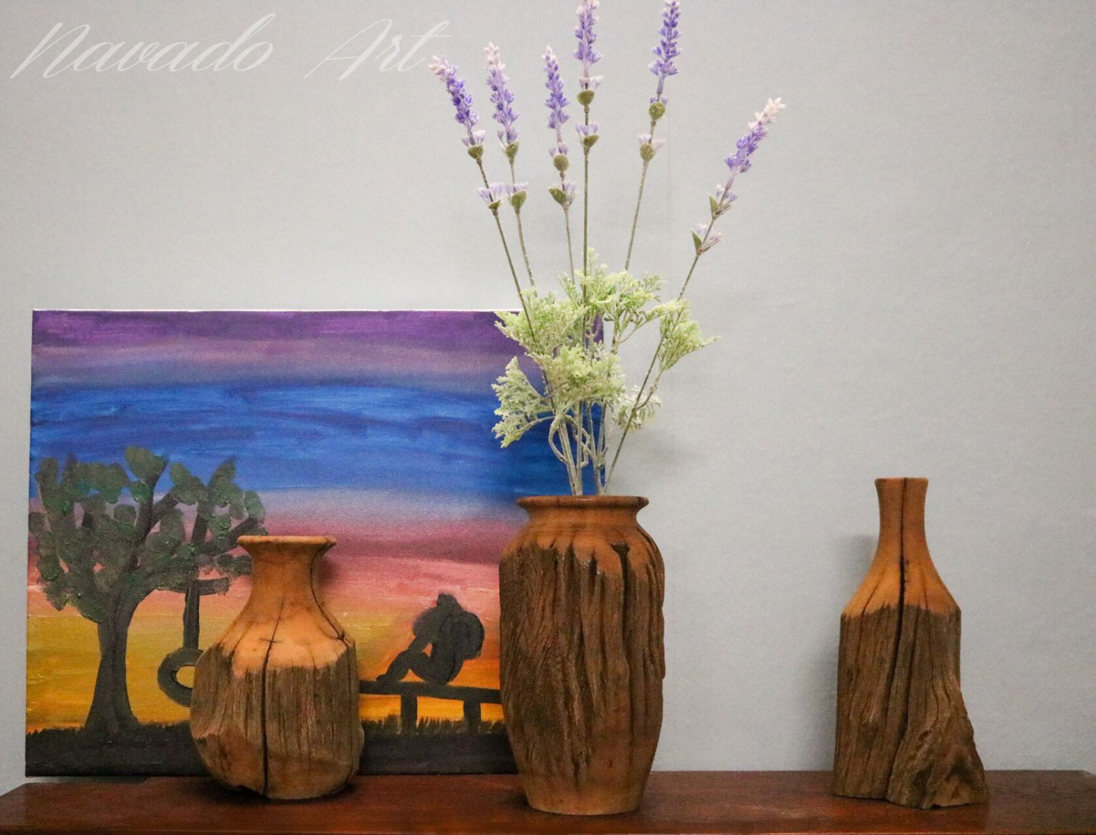wooden-vase-decorate-house
